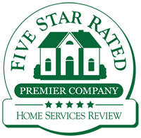 5 star rated premier company logo