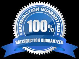 100% satisfaction garentee